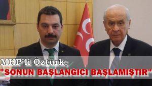 MHP'li Öztürk'ten