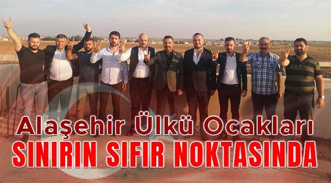 Alaşehir Ülkü Ocakları Sınırın Sıfır Noktasında