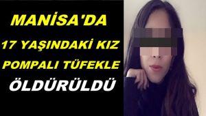 Salihli'de Kadın Cinayeti ! 17 Yaşındaydı