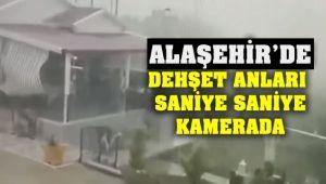 Alaşehir'de Dehşet Anları Saniye Saniye Kamerada