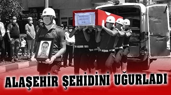 Alaşehir'li Şehit Polis Memuru Onur Bayram Son Yolculuğuna Uğurlandı