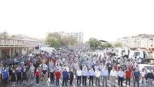 Alaşehir'de İşçileri Sevindiren İmza