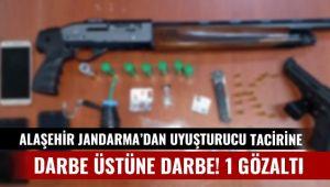 Alaşehir Jandarma Uyuşturucu Tacirlerine Göz Açtırmıyor : 1 Gözaltı