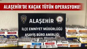 Alaşehir Polisi Tütün Kaçakçılarına Göz Açtırmadı