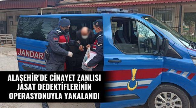 Yakın Akrabasını Öldüren Cinayet Zanlısı Alaşehir'de Yakalandı