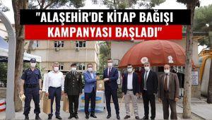 Alaşehir'de kitap bağış kampanyası başladı