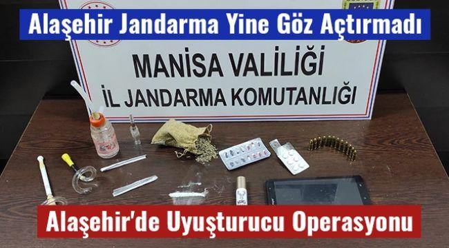 Alaşehir Jandarma'dan Uyuşturucu Operasyonu 1 Kişi Yakalandı