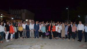 MHP Grup Başkanvekili Akçay, Demirci'de 17 İlçe Başkanı İle Buluştu