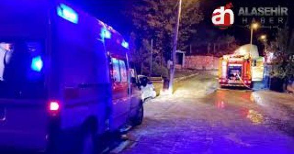 Alaşehir'de Tüp Patlaması Sonucu 1 Kişi Yaralandı