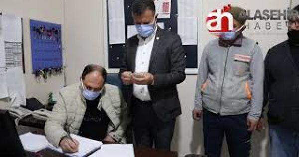 Alaşehir'de Temizlik İşçisinden İnsanlık Ölmemiş Dedirtten Hareket